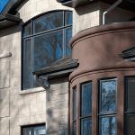 arc et fenêtres fixes
