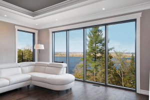 large fixed windows scenic view