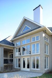architectural windows white stone