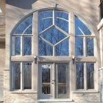 fenêtres avec design architectural