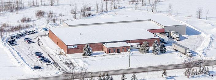 Dalmen - usine de fabrication de portes et fenêtre en Ontario