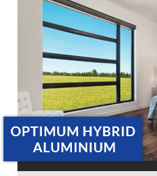 optima hybrid casement windows