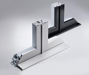 cadre de fenêtre hybride en aluminium