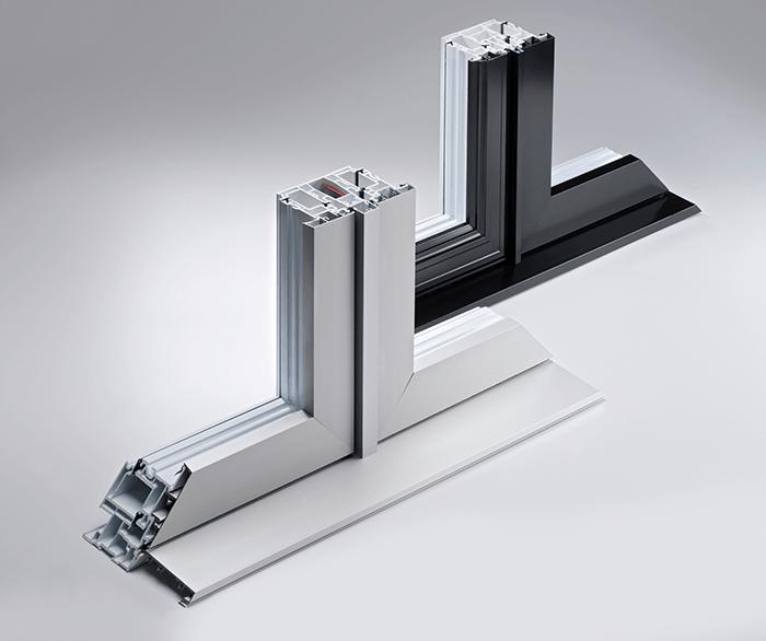Hybrid Windows – Optima Series Aluminum and PVC Frames | Dalmen