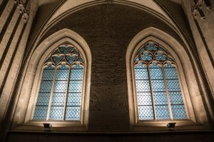 glass church window