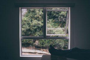 windows Ottawa, dark room